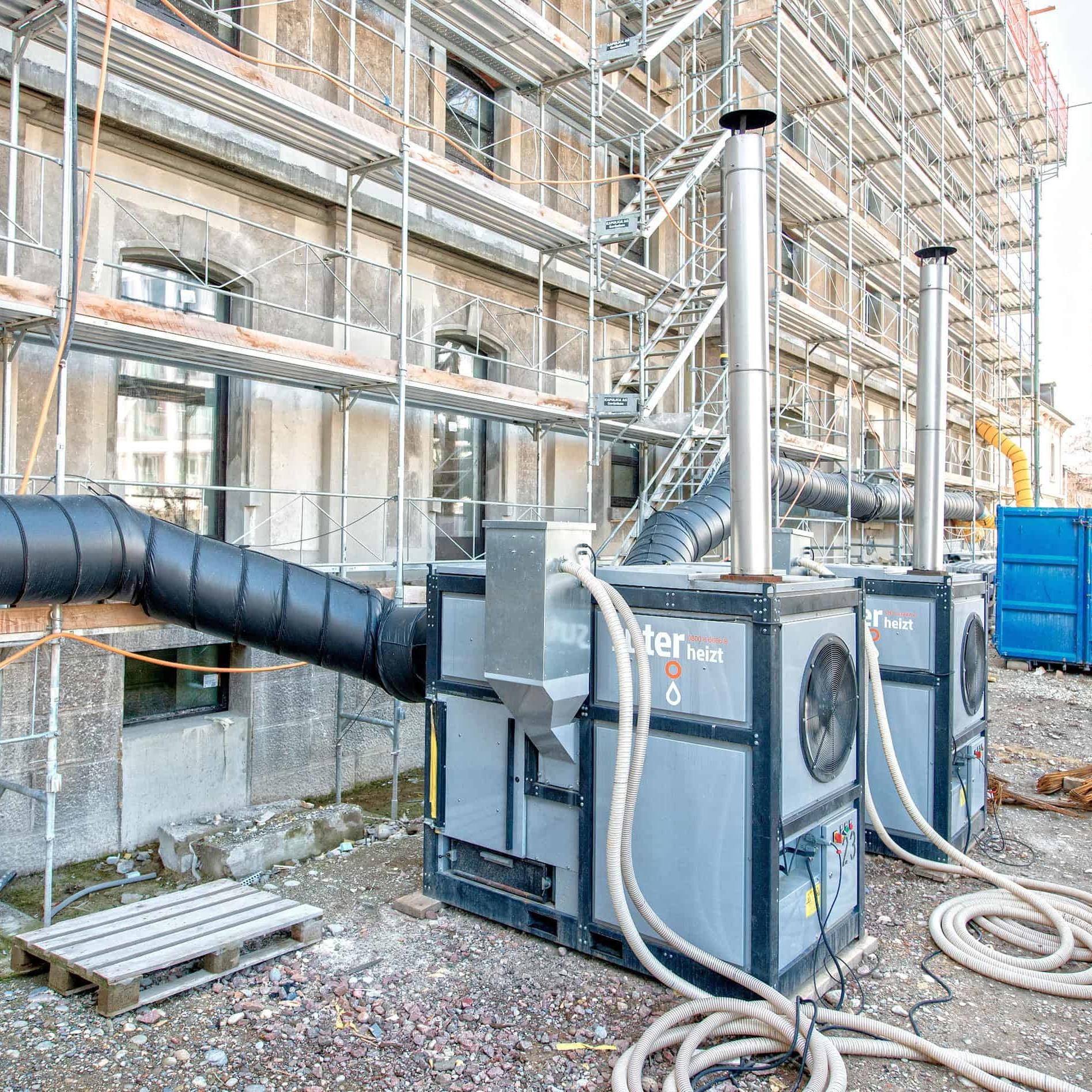 Die Suter Gruppe vereint K. Suter AG, Suter Entfeuchtungstechnik AG und Suter Brandschutz AG